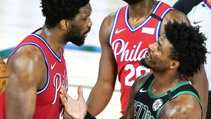 Celtics not celebrating despite making quick work of 76ers