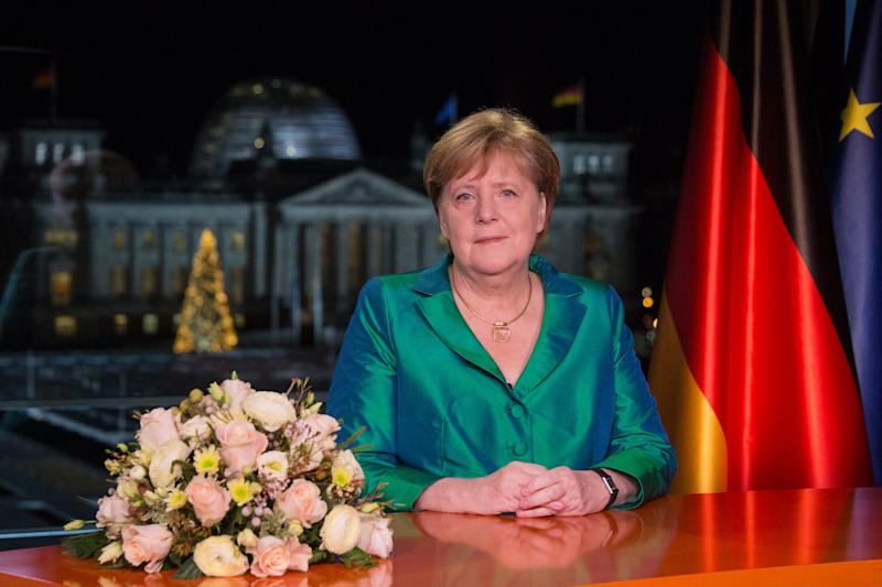 Climate Tops Germany's 2020 Agenda With Merkel Legacy at Stake