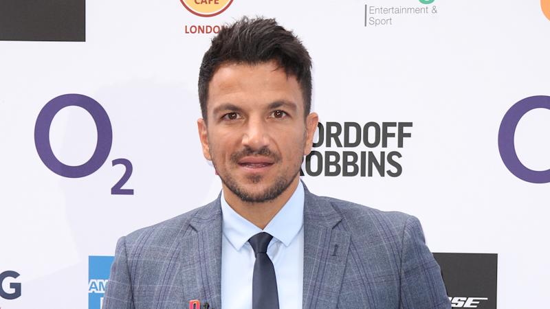 Peter Andre attends the Nordoff Robbins O2 Silver Clef Awards 2019 at Grosvenor House on July 05, 2019. (Photo by Mike Marsland/WireImage)