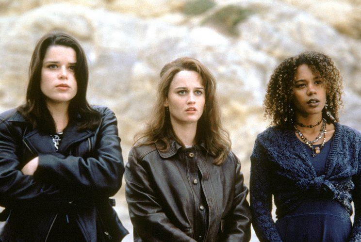 Neve Campbell, Robin Tunney, and Rachel True in