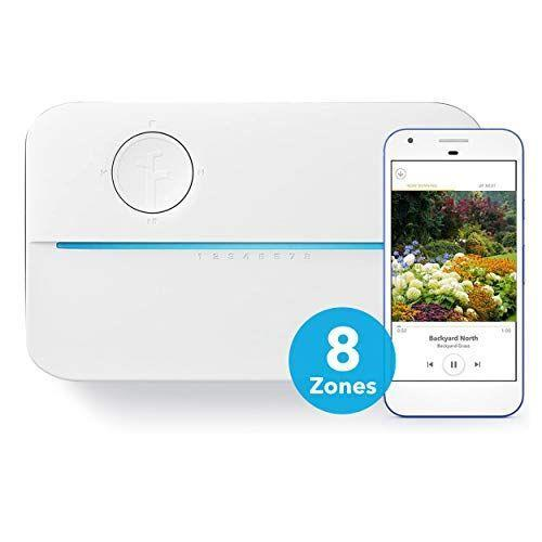 """<p><strong>Rachio</strong></p><p>amazon.com</p><p><strong>$199.99</strong></p><p><a href=""""https://www.amazon.com/dp/B07CZ864Y9?tag=syn-yahoo-20&ascsubtag=%5Bartid%7C10055.g.32785092%5Bsrc%7Cyahoo-us"""" rel=""""nofollow noopener"""" target=""""_blank"""" data-ylk=""""slk:Shop Now"""" class=""""link rapid-noclick-resp"""">Shop Now</a></p><p>The Rachio 3 Controller <strong>works with your in-ground sprinkler system. It integrates via Wi-Fi with other smart home products</strong> – you can control it from your smart phone or via an Alexa-enabled device, Apple HomeKit or Google Assistant, plus it has controls on the device itself. Over 900 Amazon customers gave it a five-star rating. Each sprinkler zone can be individually controlled, so an area of lawn in all-sun can be watered more frequently than the area in the shade. The Rachio 3 coordinates watering with the weather and therefore saves water – which earns its listing on the EPA's WaterSense program. We tested the eight-zone controller, but Rachio also has a <a href=""""https://www.amazon.com/Rachio-Smart-Sprinkler-Controller-16-Zone/dp/B07CZ5K355?tag=syn-yahoo-20&ascsubtag=%5Bartid%7C10055.g.32785092%5Bsrc%7Cyahoo-us"""" rel=""""nofollow noopener"""" target=""""_blank"""" data-ylk=""""slk:16-zone device"""" class=""""link rapid-noclick-resp"""">16-zone device</a> for larger lawns.</p><p><strong>Coverage shape</strong>: Dependent on sprinkler head<strong><br>Maximum coverage</strong>: Dependent on in-ground sprinkler system</p>"""
