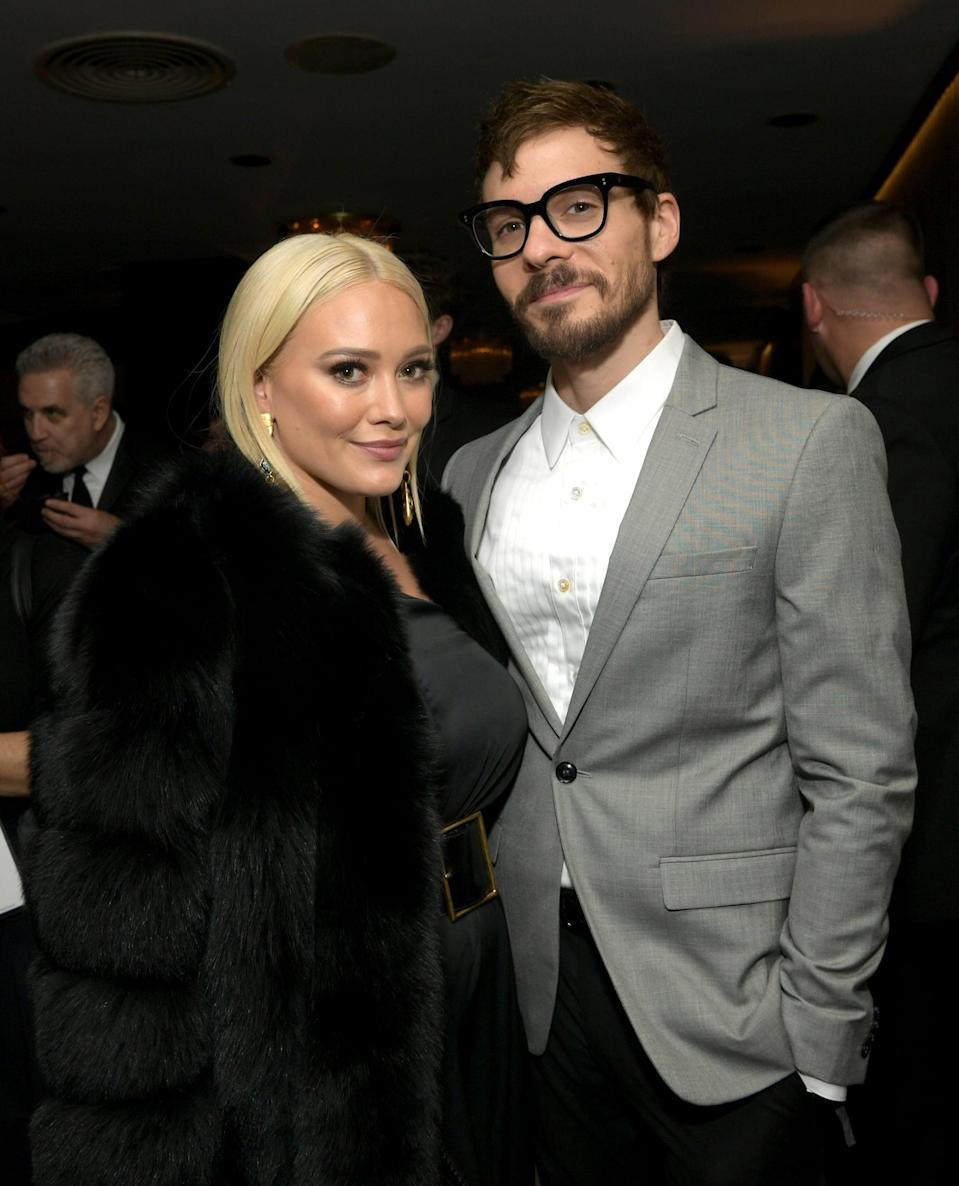 BEVERLY HILLS, CA - JANUARY 06:  Hilary Duff and Matthew Koma attend the Amazon Prime Video's Golden Globe Awards After Party at The Beverly Hilton Hotel on January 6, 2019 in Beverly Hills, California.  (Photo by Emma McIntyre/Getty Images)