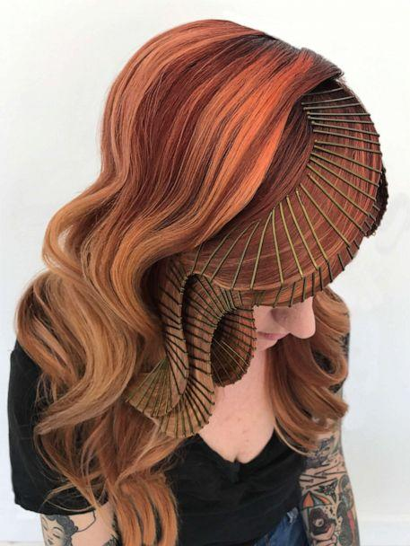 PHOTO: Stylist Casey Powell has a bobby pin technique to create her signature hair sculptures. (Courtesy of Casey Powell)