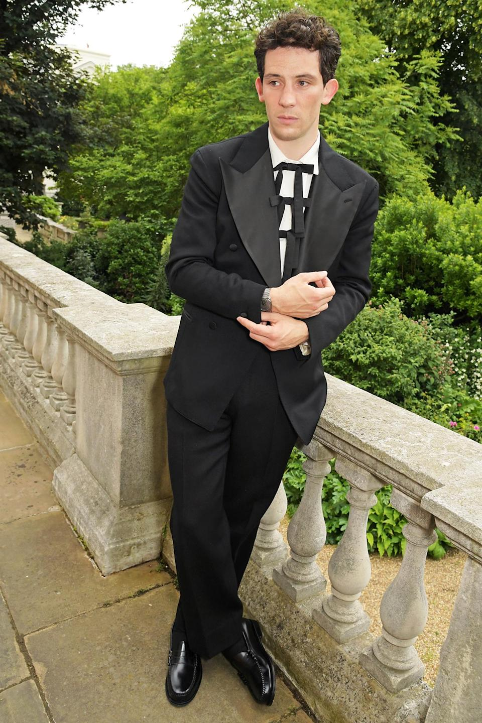 <p>Josh O'Connor looks dapper at the Bvlgari Magnifica Gala at Spencer House on June 24 in London. </p>