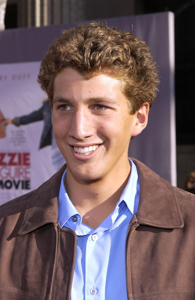 Clayton Snyder during The Lizzie McGuire Movie - Premiere at The El Capitan Theater in Hollywood, California, United States. (Photo by L. Cohen/WireImage)