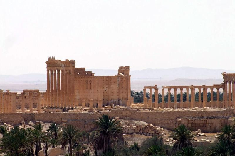 Ancient oasis city of Palmyra, 215 km north-east of Damascus, pictured in May 2015 (AFP Photo/-)