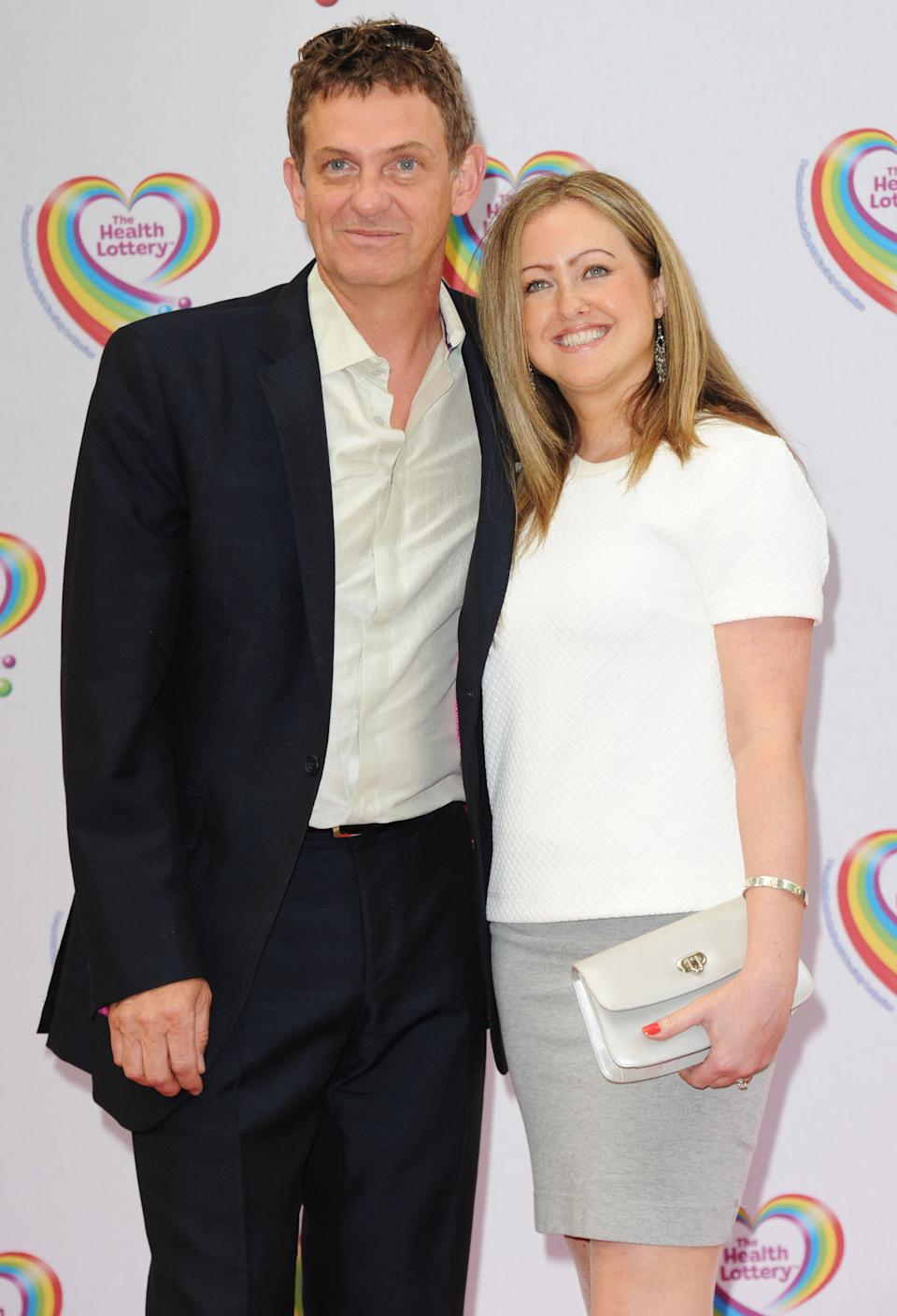 Matthew Wright (L) and Amelia Wright attends the Health Lottery tea party at The Savoy Hotel on June 2, 2014 in London, England.  (Photo by Stuart C. Wilson/Getty Images)