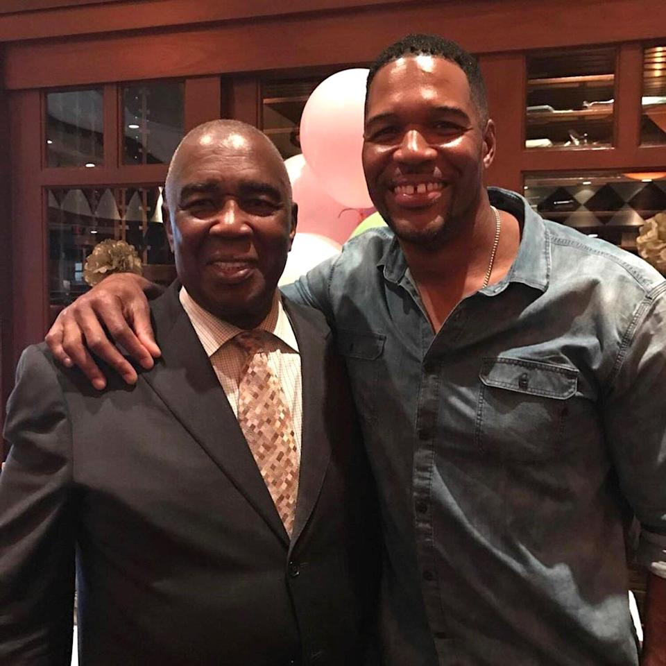 Michael Strahan Opens Up About Coping with His Dad's Death and What 'Brought Smiles' to His Face