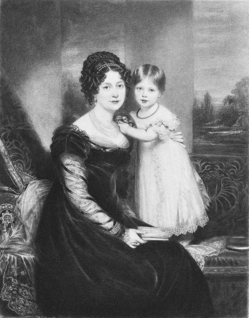 """<p>Everyone thinks of Queen Victoria as the daughter of Prince Edward and Princess Victoria, but in 2003, <a href=""""http://royalcentral.co.uk/historic/allegations-resolved-over-queen-victorias-real-father-47047"""" rel=""""nofollow noopener"""" target=""""_blank"""" data-ylk=""""slk:biographer Andrew Norman Wilson"""" class=""""link rapid-noclick-resp"""">biographer Andrew Norman Wilson</a> thought he found evidence that she was illegitimate and that her actual father was an Irish soldier and close confidante of Edward named John Conroy. Wilson noted that none of Victoria's many descendants suffered from <a href=""""https://www.mayoclinic.org/diseases-conditions/porphyria/symptoms-causes/syc-20356066"""" rel=""""nofollow noopener"""" target=""""_blank"""" data-ylk=""""slk:porphyria"""" class=""""link rapid-noclick-resp"""">porphyria</a>, a hereditary disease caused by """"buildup of certain chemicals related to red blood cell proteins."""" Prince Edward's father, George III, suffered from the condition. Years later, Wilson took it back, saying he doesn't think Queen Victoria is illegitimate after all. </p>"""