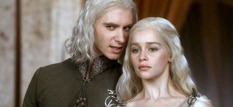 Viserys and Daenerys Targaryen (Credit: HBO)