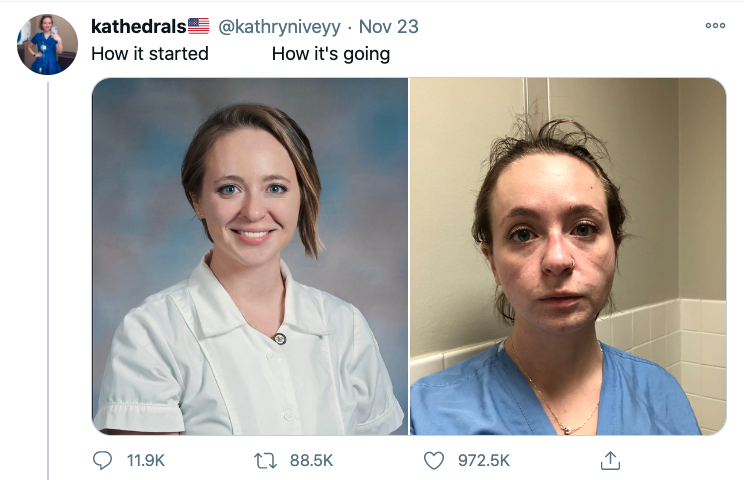 Kathryn nurse Tweet