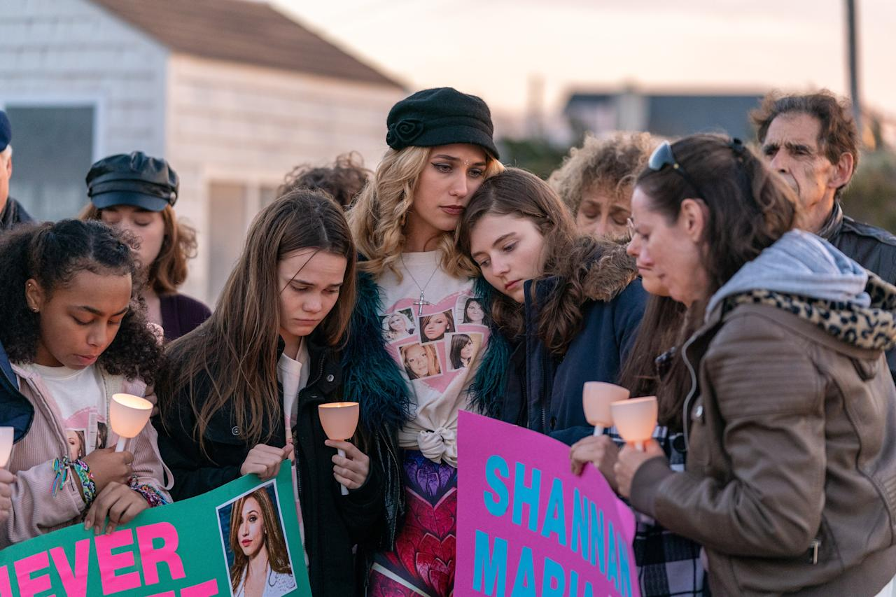"""<em>Lost Girls,</em> which is now available on Netflix, is based on a true story. The streaming platform's <a>official description</a> for the film is: """"Desperate to find her missing daughter, a mother fights to uncover the truth—and helps expose a string of unsolved murders."""" Sounds like just the sort of movie to get into while you're stuck at home. <a href=""""https://www.netflix.com/watch/80223927?source=35"""" rel=""""nofollow"""" target=""""_blank""""><em>Available on Netflix.</em></a>"""