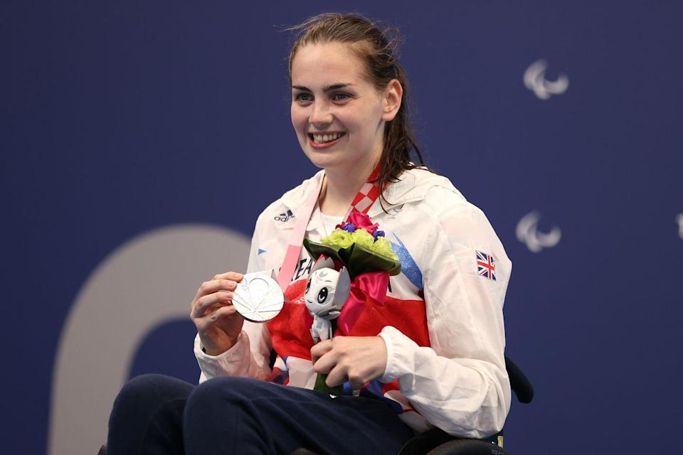 <p>Part of Team GB's strong showing in the pool, Tully Kearney secured a silver medal in the women's S5 200m freestyle event. </p><p>After a challenging journey to the Paralympics (Kearney faced medical issues that made put a question mark over her competing in Tokyo), Kearney said she's pleased with her performance and how close she came to her personal best. </p>