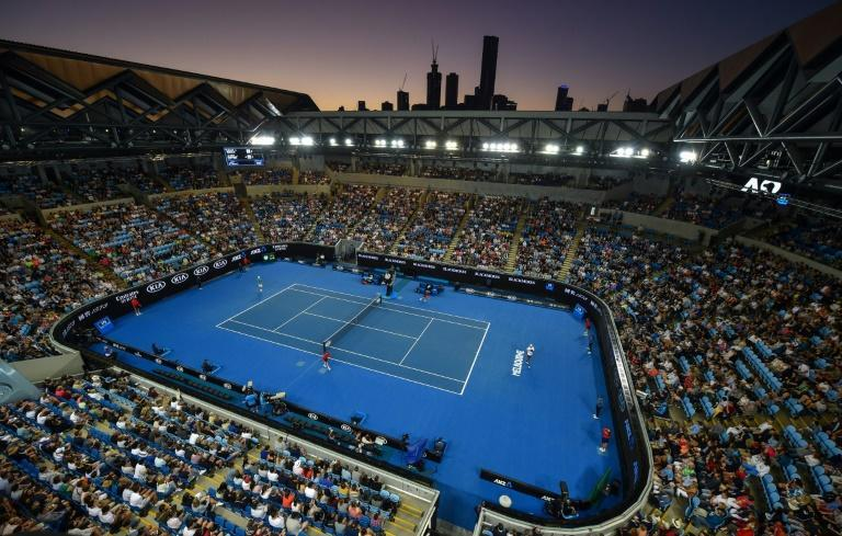 Melbourne Park's Margaret Court Arena is named after the Grand Slam record-holder (AFP Photo/PETER PARKS )
