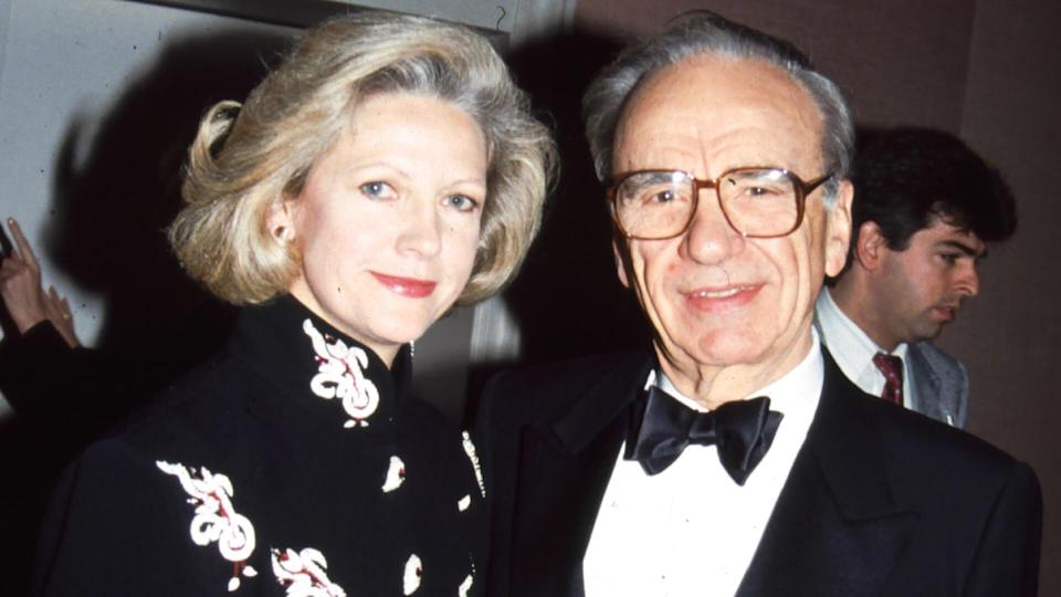 Mandatory Credit: Photo by BEI/REX/Shutterstock (5140441v)Anna and Rupert MurdochArchive PhotosAnna and Rupert Murdoch .