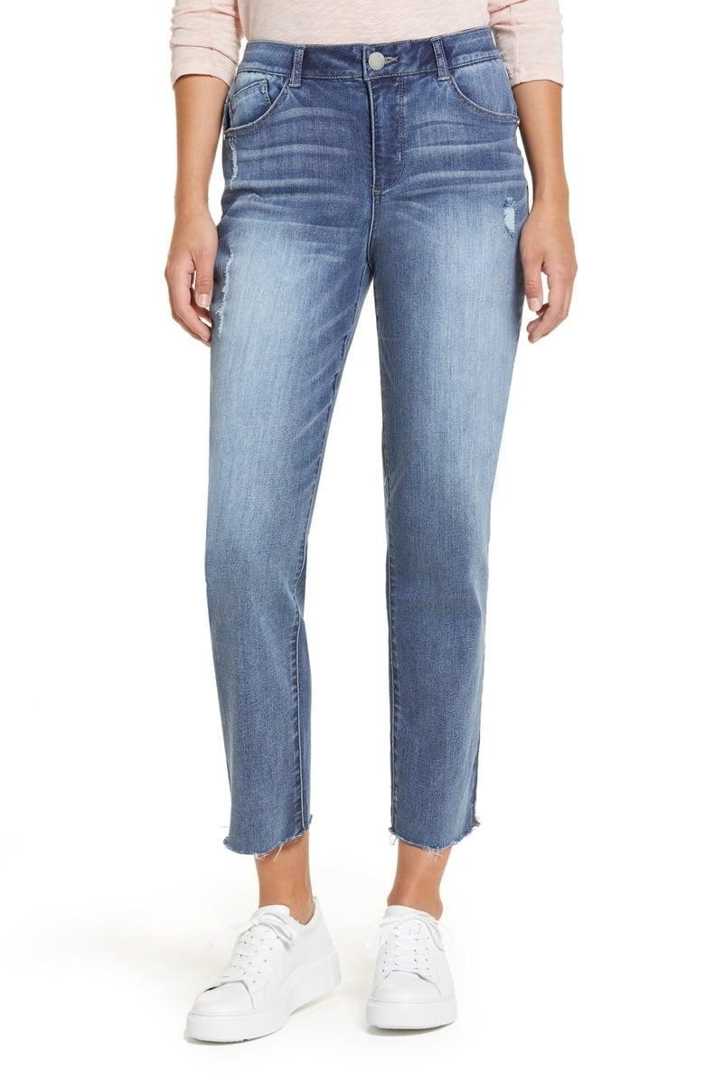 <p><span>Wit & Wisdom Luxe Touch Ab-Solution High Waist Straight Leg Crop Jeans</span> ($50, originally $78)</p>