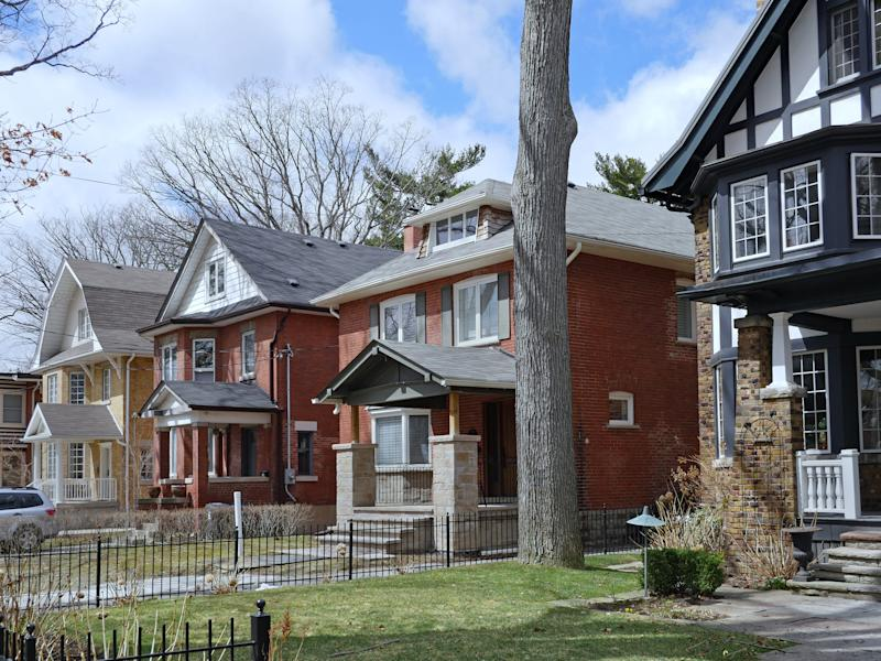 Detached home prices in the GTA are up 10.5 per cent from last year (Getty)