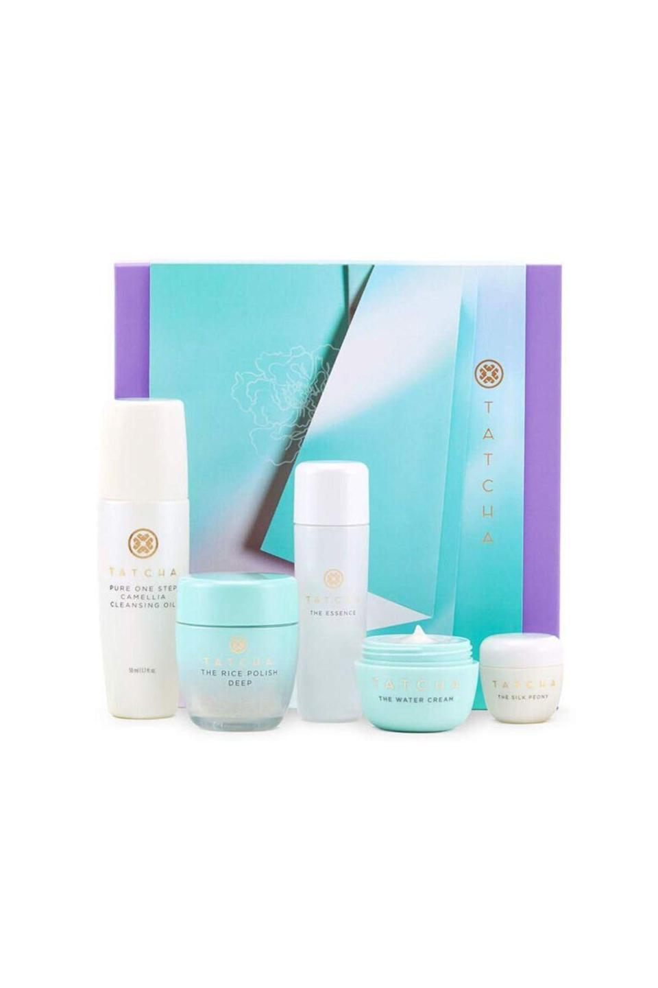 "<p><strong>Tatcha </strong></p><p>amazon.com</p><p><strong>$68.00</strong></p><p><a href=""https://www.amazon.com/dp/B08D3PK6KZ?tag=syn-yahoo-20&ascsubtag=%5Bartid%7C10058.g.4124%5Bsrc%7Cyahoo-us"" rel=""nofollow noopener"" target=""_blank"" data-ylk=""slk:SHOP IT"" class=""link rapid-noclick-resp"">SHOP IT</a></p><p>Have you been neglecting the eye cream? (Same.) This kit should undo some of the damage that you *would* have been preventing had you been diligent about applying said stuff.</p>"