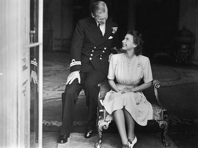 Queen Elizabeth and Prince Philip – then Princess Elizabeth and Philip Mountbatten – announce their engagement on July 10, 1947. Their romance began years before, however: They met when Elizabeth was just 13 years old, and despite the age difference, she was reportedly instantly smitten.