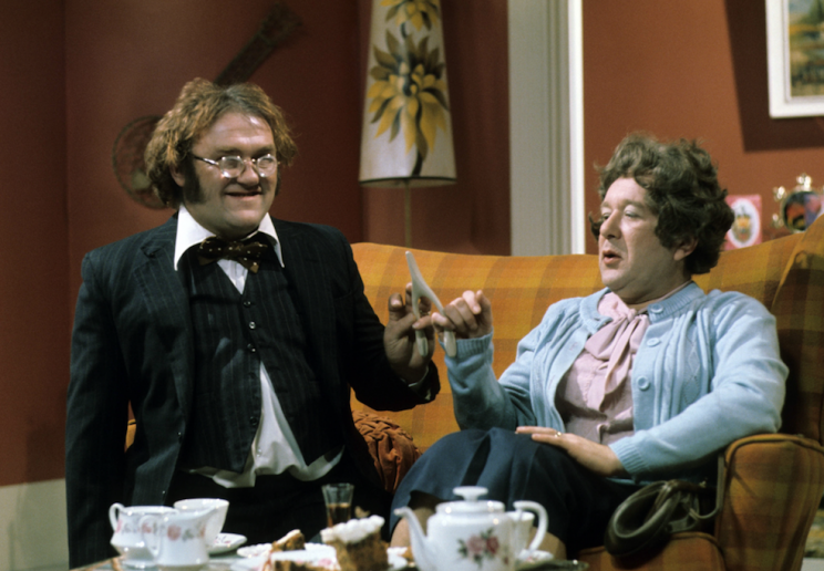 'The Les Dawson Show' with Les Dawson and Roy Barraclough in 1975