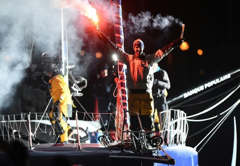 French skipper Armel Le Cleac'h holds the record for the Vendee Globe after winnig the eight edition in just over 74 days
