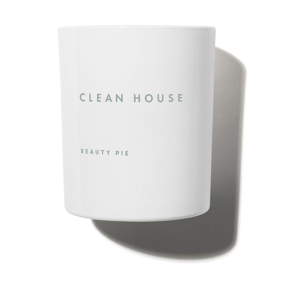 """<p>Beauty Pie Clean House</p><p>£17.33</p><p>Beautypie.co.uk</p><p><a class=""""link rapid-noclick-resp"""" href=""""https://go.redirectingat.com?id=127X1599956&url=https%3A%2F%2Fwww.beautypie.com%2Fcandles%2Fclean-house-scented-candle&sref=https%3A%2F%2Fwww.harpersbazaar.com%2Fuk%2Fbeauty%2Ffragrance%2Fg30698193%2Fbest-scented-candles%2F"""" rel=""""nofollow noopener"""" target=""""_blank"""" data-ylk=""""slk:SHOP NOW"""">SHOP NOW </a></p><p>If you needed proof of Beauty Pie's unfathomably high quality, consider that the oils for these candles are blended in Grasse: the home of fine fragrance. What's more, each one is large enough to burn for 60 hours. </p><p>Costing just £17.33 to <a href=""""https://go.redirectingat.com?id=127X1599956&url=https%3A%2F%2Fwww.beautypie.com%2Fjoin-beauty-pie&sref=https%3A%2F%2Fwww.harpersbazaar.com%2Fuk%2Fbeauty%2Ffragrance%2Fg30698193%2Fbest-scented-candles%2F"""" rel=""""nofollow noopener"""" target=""""_blank"""" data-ylk=""""slk:members"""" class=""""link rapid-noclick-resp"""">members</a>, (it costs as little as £5 to join), it's little wonder this one, which smells like crisp, lavender-spritzed cotton sheets, keeps selling out. </p>"""