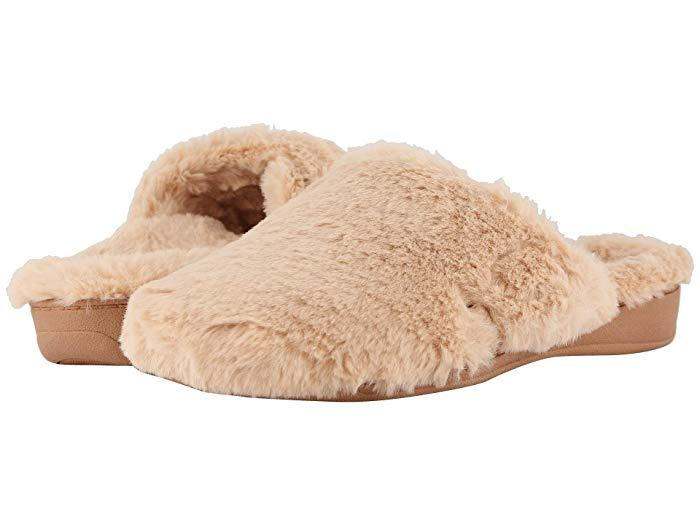 VIONIC Gemma Plush Slippers. (Photo: Zappos)