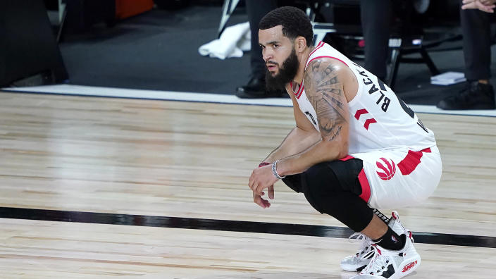 Fred VanVleet is the biggest question heading into the offseason. (Photo by Ashley Landis-Pool/Getty Images)