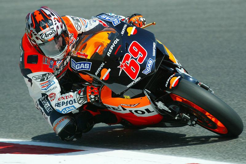 "2003 - Nicky Hayden, Repsol Honda Team<span class=""copyright"">Repsol Media</span>"
