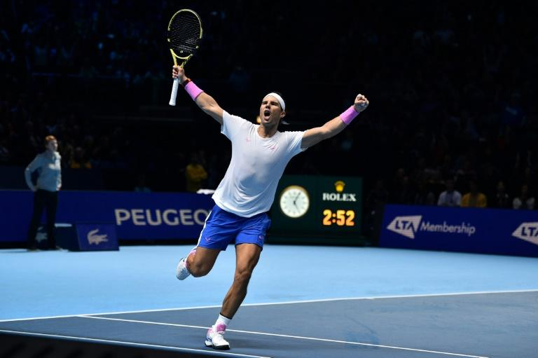 Nadal won two matches at the ATP Finals