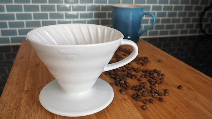 Best affordable gifts that look expensive: Hario V60 Coffee Dripper