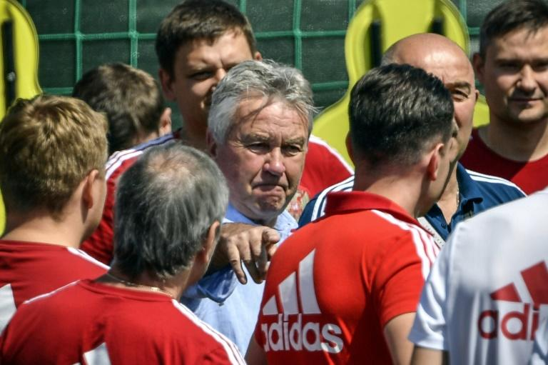 Hiddink appointed coach of minnows Curacao