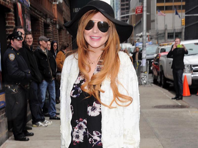 Lindsay Lohan 'back to her best'
