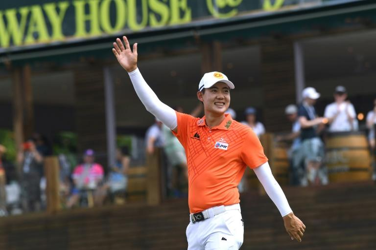 Jazz Janewattananond of Thailand, seen here winning the Asian Tour's Singapore Open last year, had been due to amke his US Masters debut next month