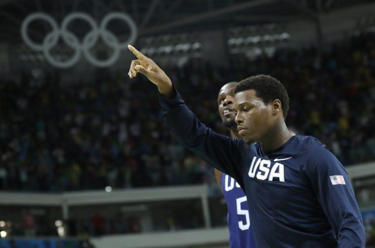 Winning Olympic gold with Team USA was a big experience for Kyle Lowry. (AP)