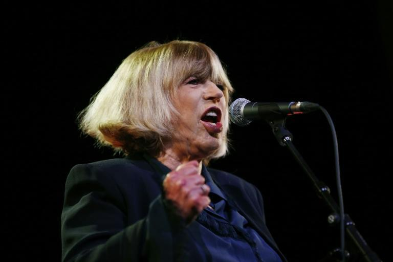 """British singer Marianne Faithfull, who says she has """"long-term Covid"""", has released a new album of poetry"""
