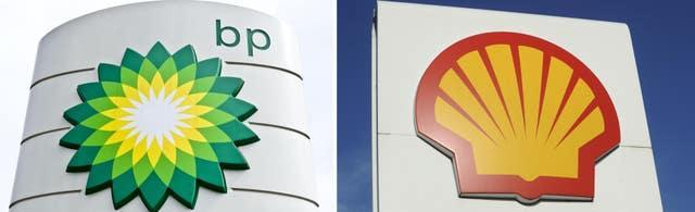 BP and Shell signs