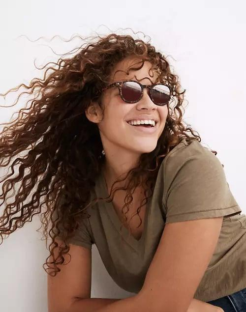 <p>Get these <span>Madewell Recycled Keyhole Sunglasses</span> ($30), and thank us later.</p>
