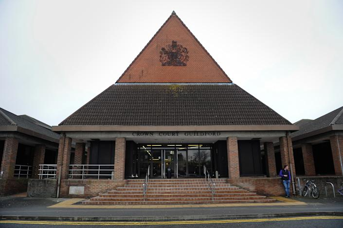 He was jailed at Guilford Crown Court in Surrey (Picture: Getty)