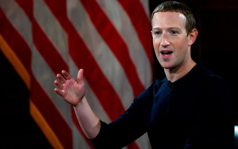 Facebook chief executive Mark Zuckerberg - AFP