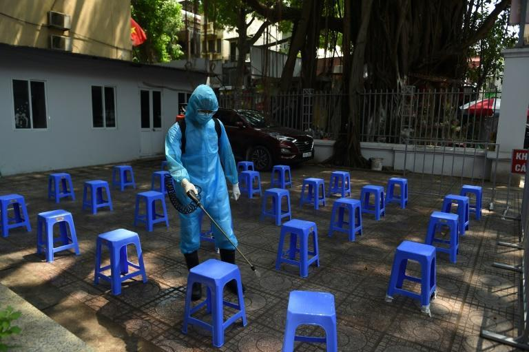 Hanoi's bars have been closed since Wednesday, while fairs and festivals were suspended