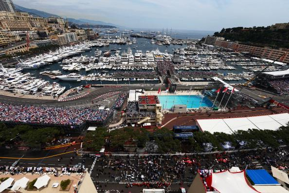 General view of the grid before the start of the Monaco Formula One Grand Prix at the Circuit de Monaco on May 27, 2012 in Monte Carlo, Monaco. (Photo by Paul Gilham/Getty Images)