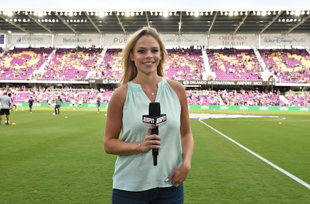 Julie Stewart-Binks, ESPN