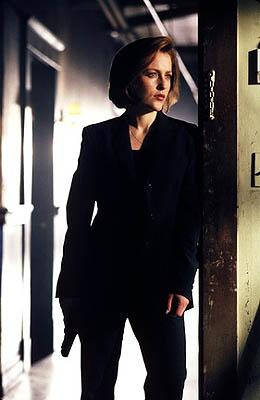"Agent Dana Scully (Gillian Anderson) in ""The Goldberg Variation"" episode of Fox's The X-Files X-Files"