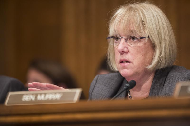 Sen. Patty Murray (D-Wash.) is asking industry organizationsfor information on their policies for dealing with reports of sexual harassment and assault. (Bloomberg via Getty Images)
