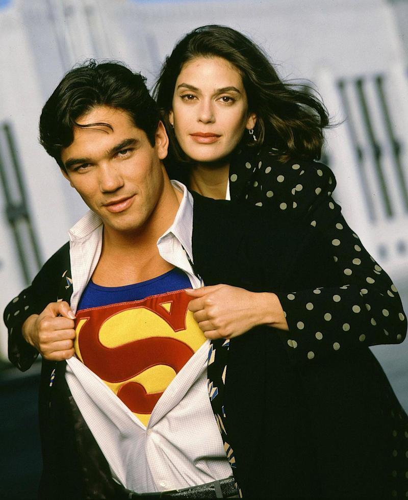 Dean Cain and Teri Hatcher in Lois & Clark: The New Adventures of Superman