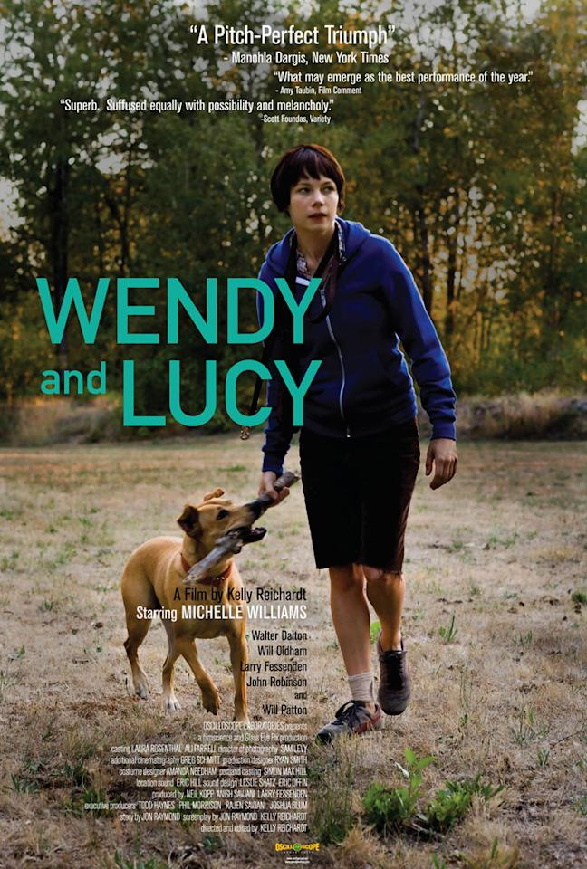 "<a href=""http://movies.yahoo.com/movie/contributor/1800018861"">Michelle Williams</a> in Oscilloscope Pictures' <a href=""http://movies.yahoo.com/movie/1810024462/info"">Wendy and Lucy</a> - 2008"
