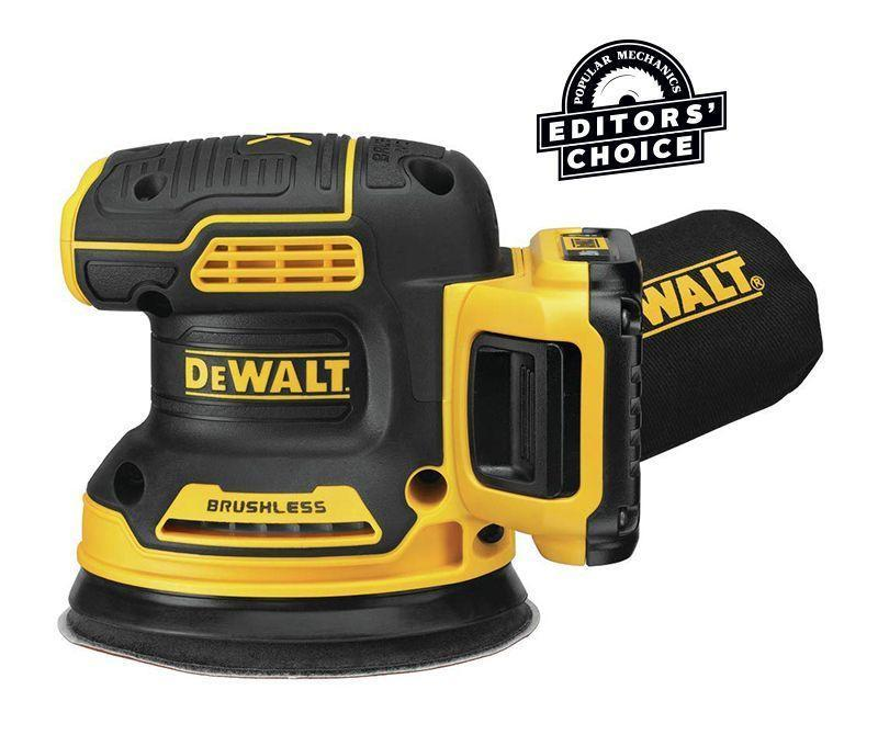 """<p><strong>DEWALT</strong></p><p>amazon.com</p><p><strong>$184.75</strong></p><p><a href=""""https://www.amazon.com/dp/B07QKNYTGK?tag=syn-yahoo-20&ascsubtag=%5Bartid%7C10060.g.26626730%5Bsrc%7Cyahoo-us"""" rel=""""nofollow noopener"""" target=""""_blank"""" data-ylk=""""slk:Buy Now"""" class=""""link rapid-noclick-resp"""">Buy Now</a></p><p><strong>Weight:</strong> 3.4 lb. <br><strong>Battery:</strong> 5.0 Ah, 20 V</p><p>At full speed, DeWalt's DCW210D1 was the fastest and most aggressive machine we tested. Yet it still sands with very little jarring vibration feedback. It's also important to note that it did better than many other sanders at lower speeds. Some machines exhibit more vibration and loss of effectiveness as you dial back their speed, but not the DeWalt. If you're already invested in the company's cordless system, this tool is a sensible addition. Even if you're not, it's a great place to start since you get the sander, a charger, a battery, and a bag. And the company makes a wide range of equipment from drill drivers and impact drivers to saws that work with the same battery.</p>"""