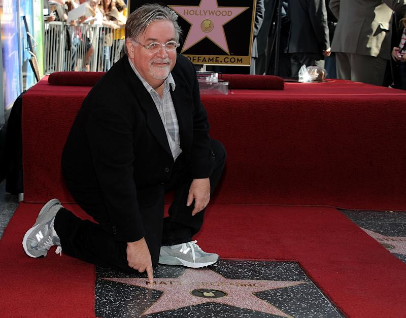 Matt Groening attends the ceremony honoring him with a Star on The Hollywood Walk of Fame on February 14, 2012 in Hollywood, California. (Photo by Valerie Macon/Getty Images)