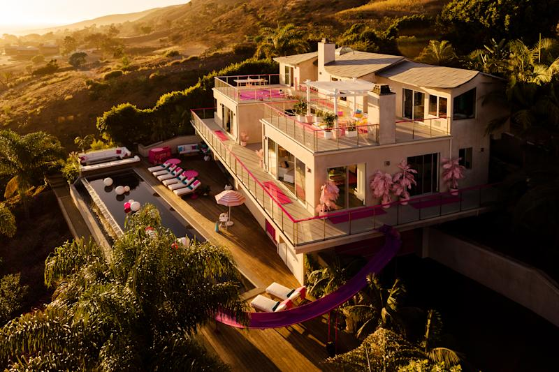 Barbie's Malibu Dreamhouse is hitting Airbnb. (Photo: Courtesy of Mattel)